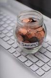 Ahorros del asunto Imagen de archivo libre de regalías