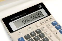 Ahorros del asunto Fotografía de archivo libre de regalías