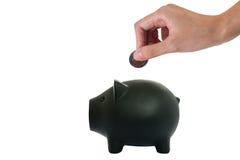 Ahorros del cerdo Imagenes de archivo