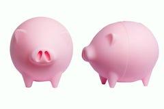 Ahorros del cerdo Fotografía de archivo