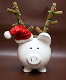 Ahorros del día de fiesta Foto de archivo libre de regalías