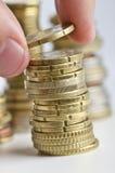 Ahorros del dinero Foto de archivo libre de regalías