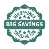 Ahorros grandes Imágenes de archivo libres de regalías
