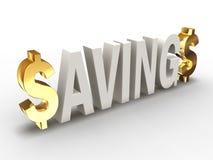 Ahorros v2 Imágenes de archivo libres de regalías
