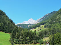 Ahrntal, Trentino-Alto Adige, Italy. A view of the Ahrntal, Trentino-Adige,Dolomites,Italy stock photography