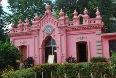 Ahsan Monjil是达卡Nawab的正式住宅宫殿和位子  免版税库存照片