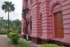 Ahsan Monjil是达卡Nawab的正式住宅宫殿和位子  免版税库存图片