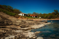 Ahto bay, near Sinemorets village, Bulgaria Royalty Free Stock Images