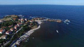 Ahtopol, Bulgaria video d archivio