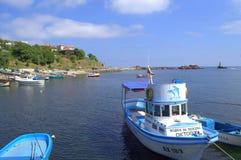 Ahtopol port, Bułgaria Fotografia Stock