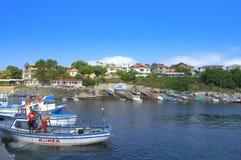 Ahtopol port,Bulgaria Royalty Free Stock Photos