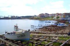Ahtopol portu zatoka, Bułgaria Obrazy Stock