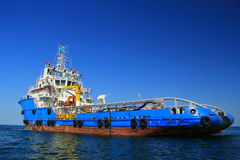 AHTS Vessel Royalty Free Stock Image