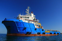 AHTS Vessel Royalty Free Stock Photos