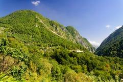 Ahtsu góry wąwóz Fotografia Royalty Free