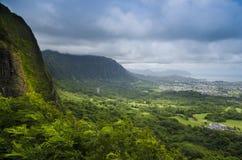 ahu Гавайские островы o Стоковые Изображения RF
