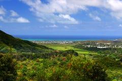 ahu Hawaii nuuanu o pali parka stan Zdjęcie Stock