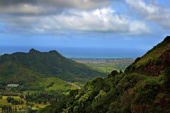 ahu Hawaii nuuanu o pali parka stan Zdjęcie Royalty Free