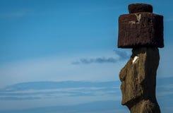 Ahu Ko Te Riku Moai, Ahu Tahai, остров пасхи, Чили Стоковые Фотографии RF