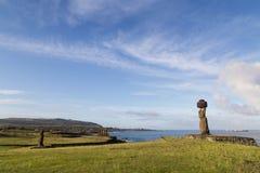Ahu Tahai στο νησί Πάσχας Στοκ Εικόνες