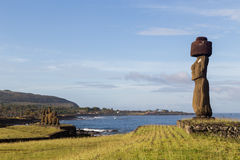 Ahu Tahai on Easter Island Stock Photos