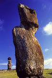 Ahu Tahai Moai Easter Island Royalty Free Stock Images