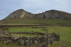 Ahu Tongariki, остров пасхи, Чили Стоковое Изображение RF