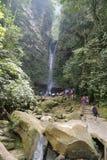 Ahuashiyacu vattenfall Arkivfoto