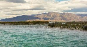 Ahuriri rzeka Obrazy Stock