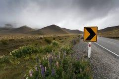 ahuriri znak parkowy drogowy Zdjęcie Royalty Free