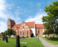 Ahus church panorama 01 Royalty Free Stock Images