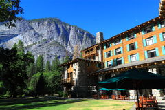 Ahwahnee-Hotel Stockfotos