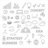 ai企业cs2 eps图标包括 图库摄影
