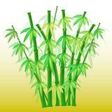 ai可用的竹格式 免版税库存照片