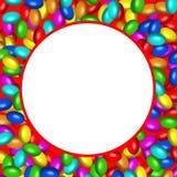 ai可用的糖果巧克力格式框架 库存照片