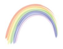 ai文件彩虹向量 库存例证