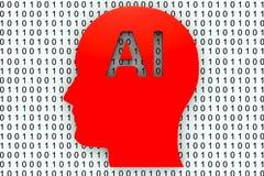 AI Στοκ εικόνα με δικαίωμα ελεύθερης χρήσης