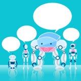 AI avec la bulle de la parole Photo libre de droits