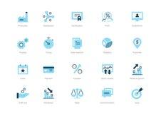 ai biznesu cs2 eps ikony zawierają ilustracja wektor