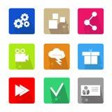 ai biznesu cs2 eps ikony zawierają Zdjęcie Stock