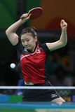Ai Fukuhara at the Olympic Games 2016 Royalty Free Stock Image