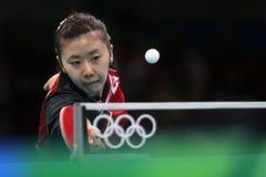 Ai Fukuhara przy olimpiadami 2016 Zdjęcia Royalty Free