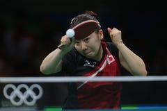 Ai Fukuhara przy olimpiadami 2016 Zdjęcie Stock