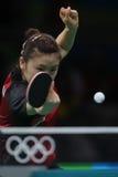 Ai Fukuhara przy olimpiadami 2016 Obrazy Stock