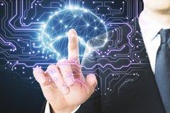 AI i medycyny pojęcie Fotografia Royalty Free