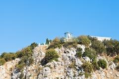 ai latarnia morska w Gaspra, Crimea Zdjęcie Stock