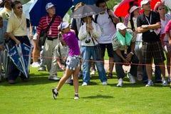 Ai Miyazato beendet ihr Schwingen an LPGA Malaysia Lizenzfreie Stockfotografie