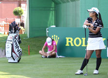 Ai Miyazato Evian Masters 2010 Royalty Free Stock Photography