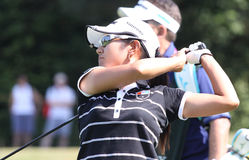 Ai Miyazato Evian Masters 2010 Royalty Free Stock Photos