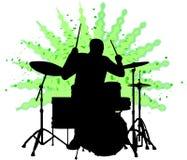 ai perkusisty ludzi Fotografia Stock